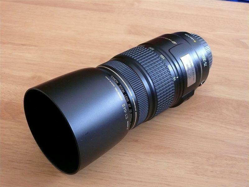 Canon Lens EF 75-300mm f4-5.6 IS USM