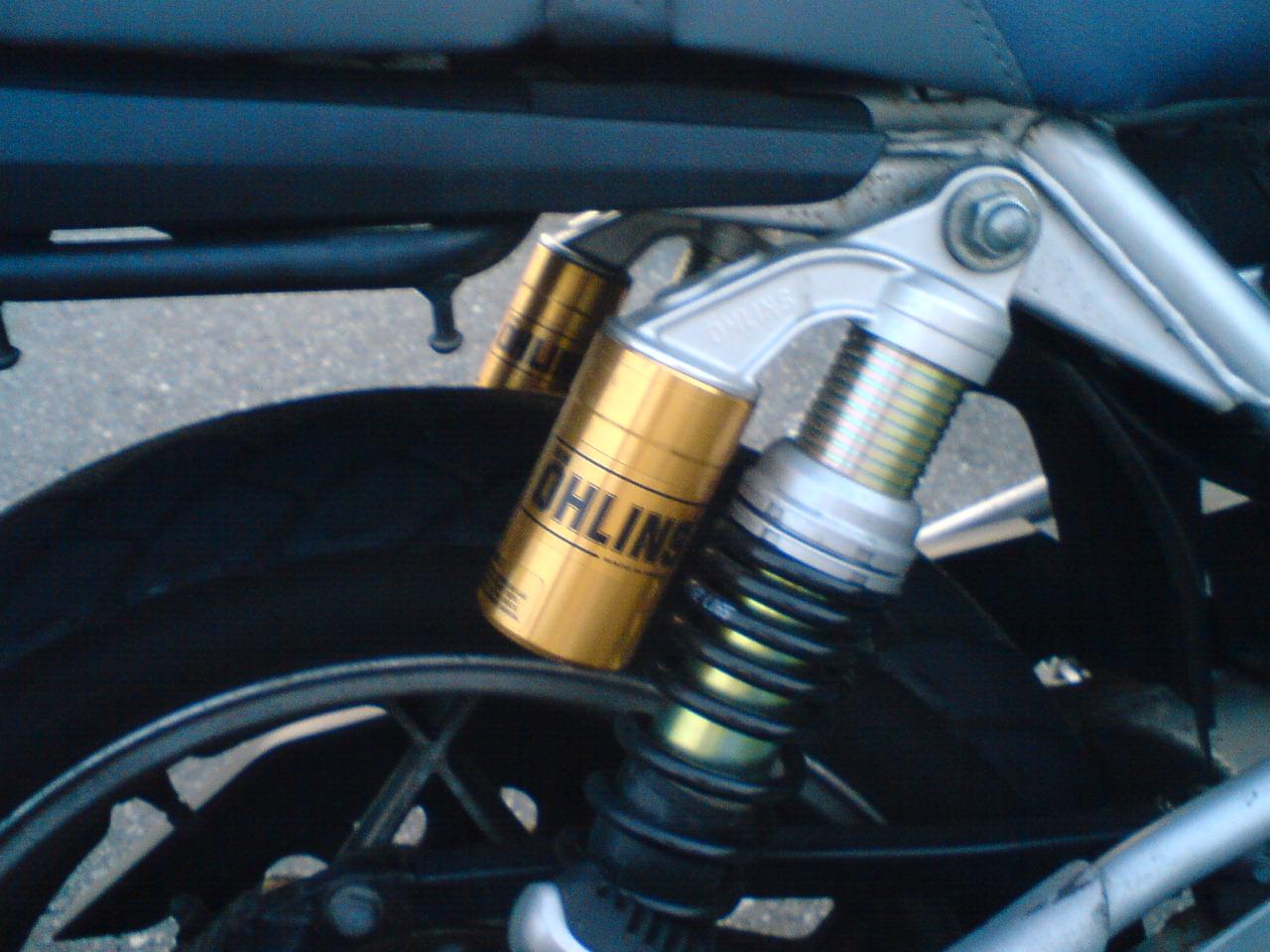 GSX400S KATANA (カタナ)オーリンズ 車高調キットの単体画像
