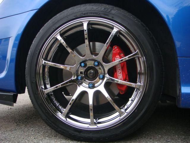 インプレッサ スポーツワゴン WRXYOKOHAMA WHEEL ADVAN Racing RSの単体画像