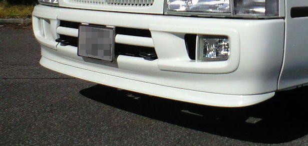 コースタートヨタ純正 フロントスポイラーの単体画像