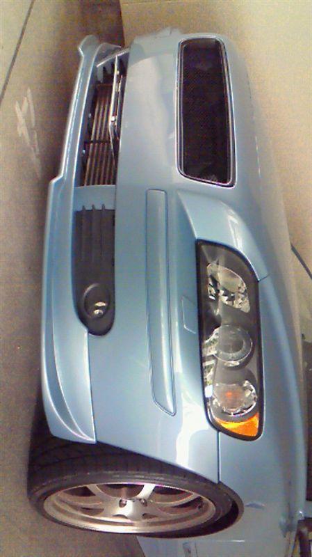 S40VST フロントスポイラーの単体画像