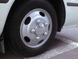 コースタートヨタ純正 コースターEX用メッキセンターキャップの単体画像