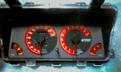 スズキスポーツ CA/CC72V専用240kmメーター