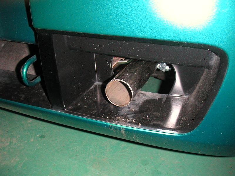 TFDaytona Exhaust Backboxの単体画像