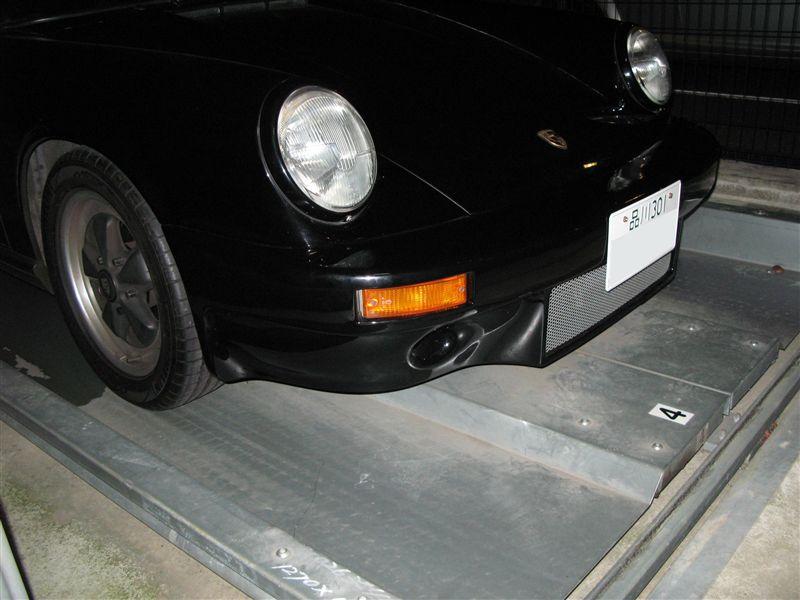 911 カブリオレ不明 RSRタイプフロントバンパーの単体画像