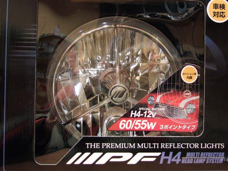 その他IPF マルチリフレクターヘッドランプ 3ポイントP付の単体画像