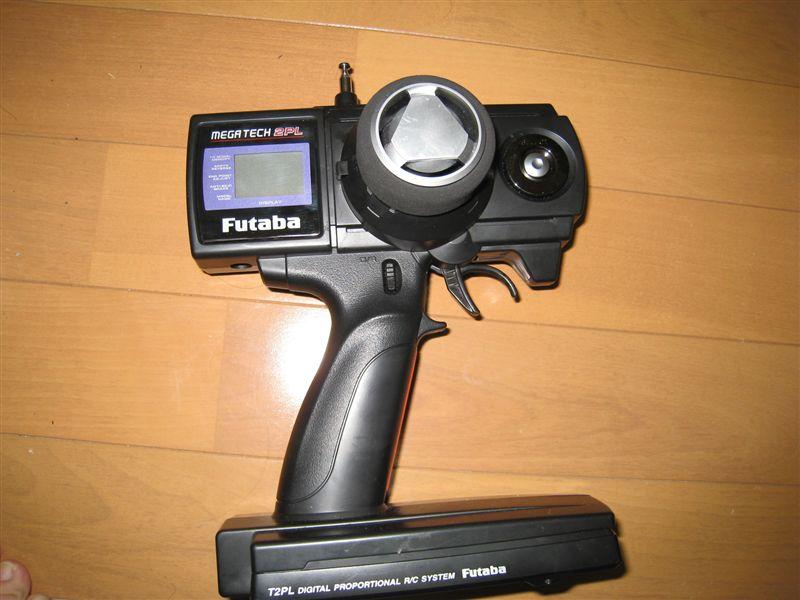 フタバ 双葉 MEGATECH 2PL-AM 電動カー用 R152JE S3003×1 MC330CR AM27MHz