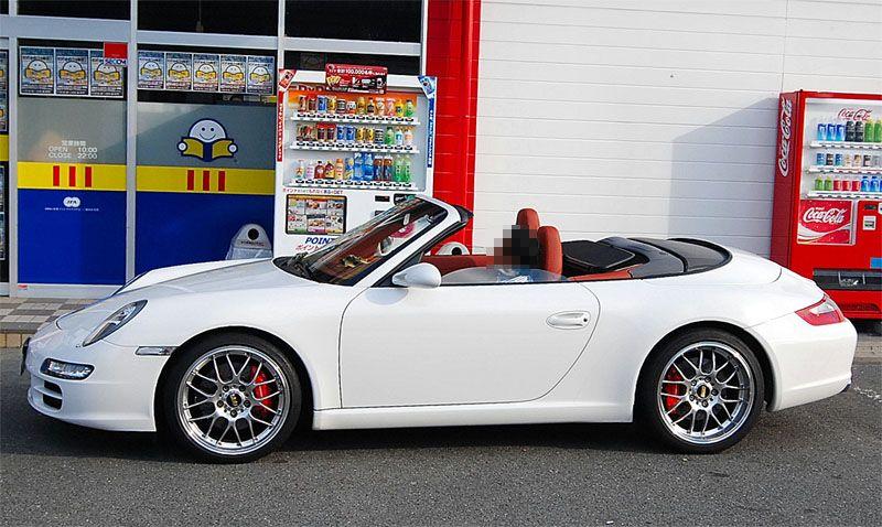 911 カブリオレBBS RS-GTホイール(19)の単体画像