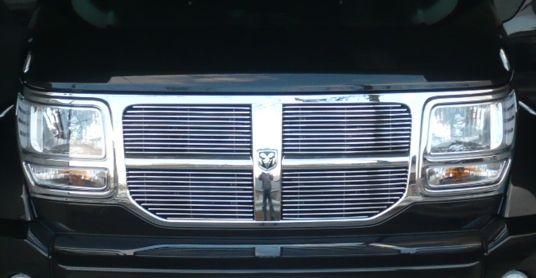 ナイトロgrille4ever Dodge Nitro 4pc Bolton Billet GrilLe GrilLの単体画像