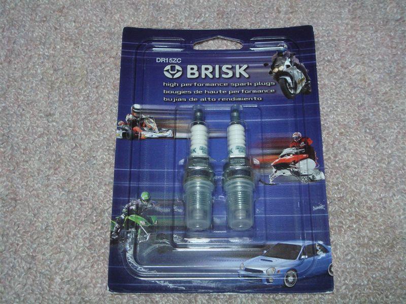 Brisk Racing BOR12LGS Bujía De Rendimiento