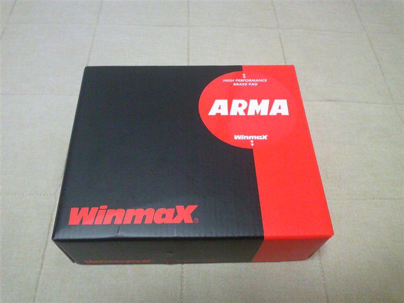 ブレーキパッド ARMAサーキット WINMAX S2000 AP1/ (ウインマックス) リア用 AC2 AP2 ホンダ