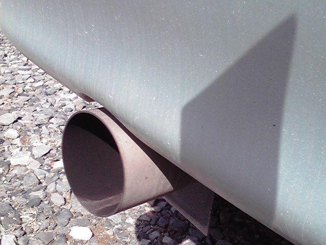ハイゼットバン不明 ワンオフ・オールステン90パイマフラーの単体画像