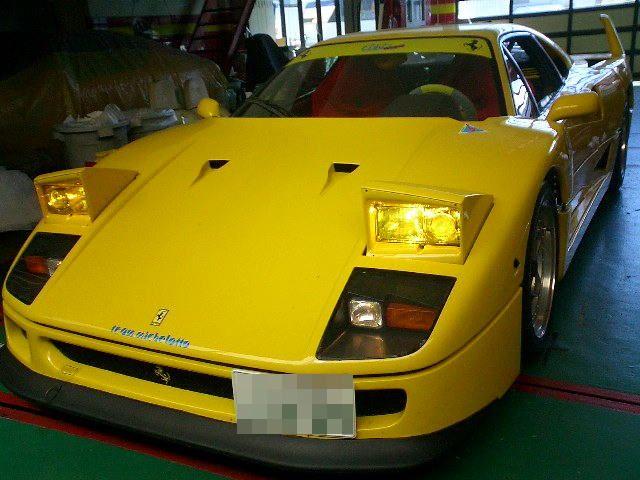 Ferrari純正フランス仕様 ヘッドライトレンズ