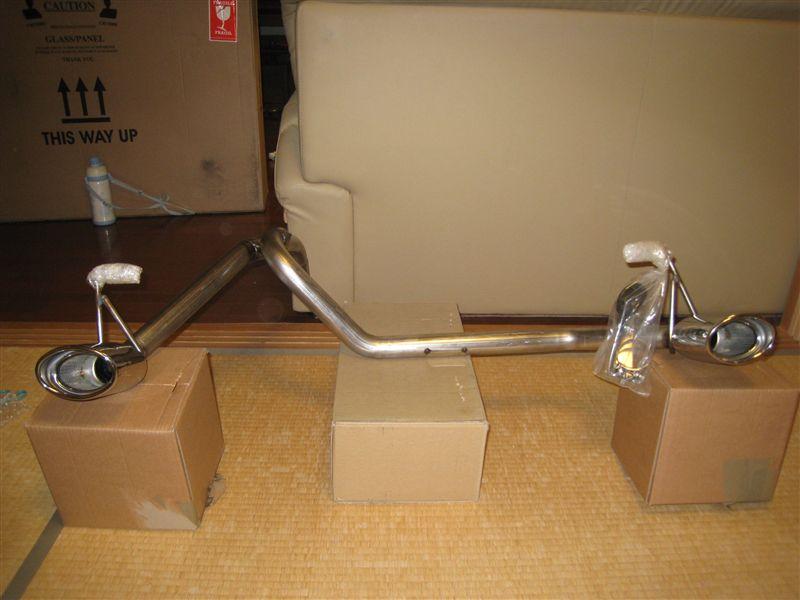 ビーゴダイハツドイツ Stainless Steel Twin Exhaust の単体画像