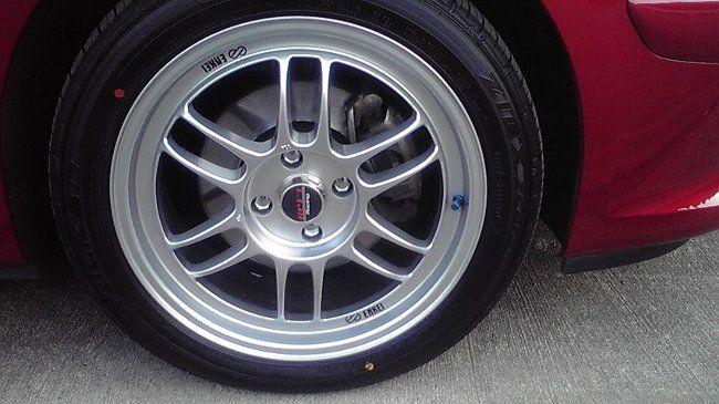 307CC (カブリオレ)ENKEI Racing RPF1の単体画像