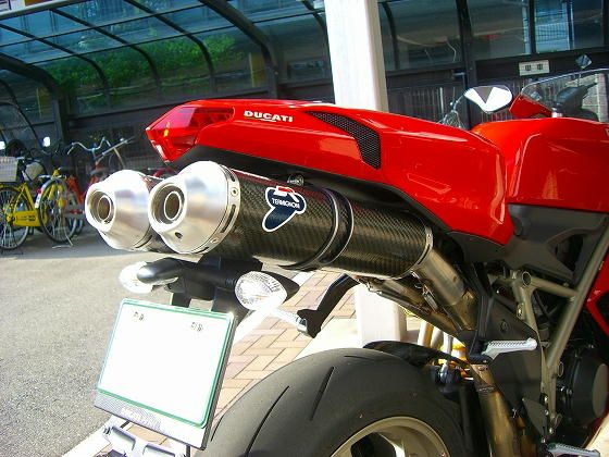 1198SDucati Performance TERMIGNONI Slip-On EXHAUSTの単体画像