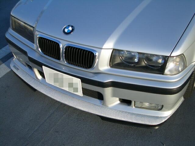 3シリーズ ハッチバックKITAMO Project Big Lip Spoiler (Twilled Silver carbon)の単体画像