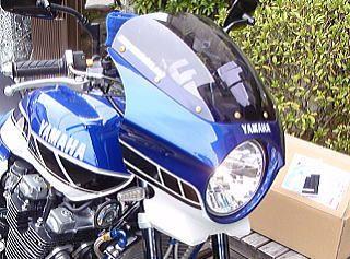 XJR1300モトズーム ビッグバイク用ビキニカウルの単体画像