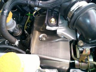 クスコ BP5専用 エキマニ遮熱版 ステンレス製