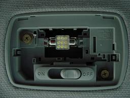 ルームランプ 9連白LED×2