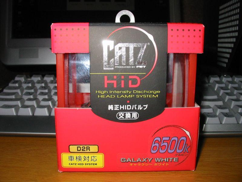 CATZ キャズ HID D2R 6500k ギャラクシーホワイト