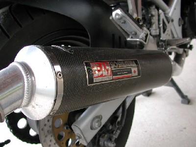 バンディット400Vヨシムラ ヨシムラ デュプレックスサイクロンの単体画像