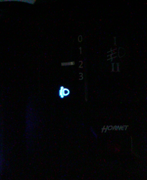 スイッチ青LED化その②