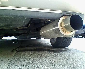 スプリンターマリノGPスポーツ 砲弾マフラーの単体画像
