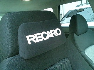 RECARO ヘッドパッド
