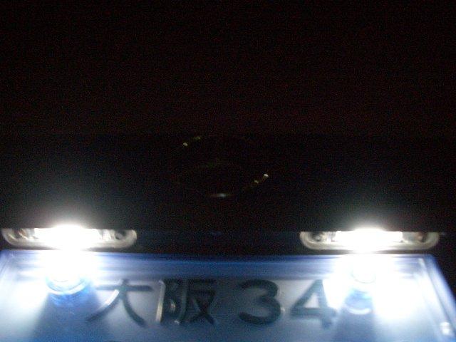 ライセンスプレート LEDバルブ化