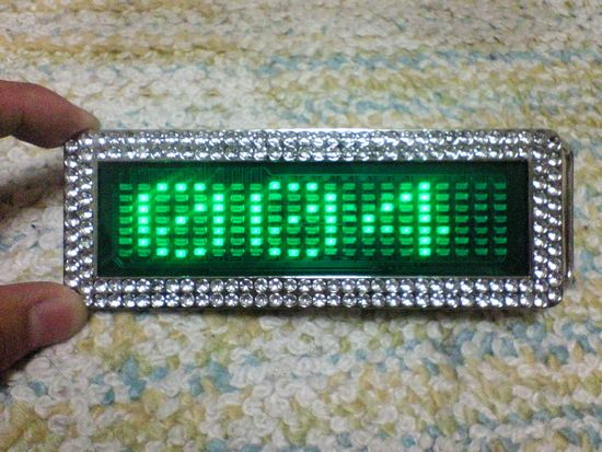 LEDバックル