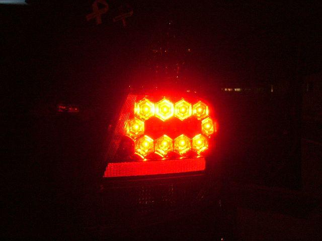 オリジナル LEDテールランプ加工
