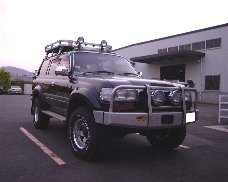 ランドクルーザー80PW4WD JAPAN カンガルーバーの単体画像