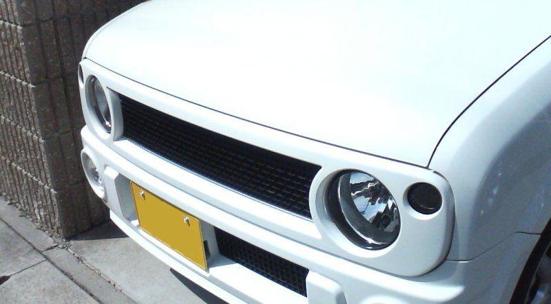 その他スズキ 純正ラパンSSグリル(新車外し品)の単体画像