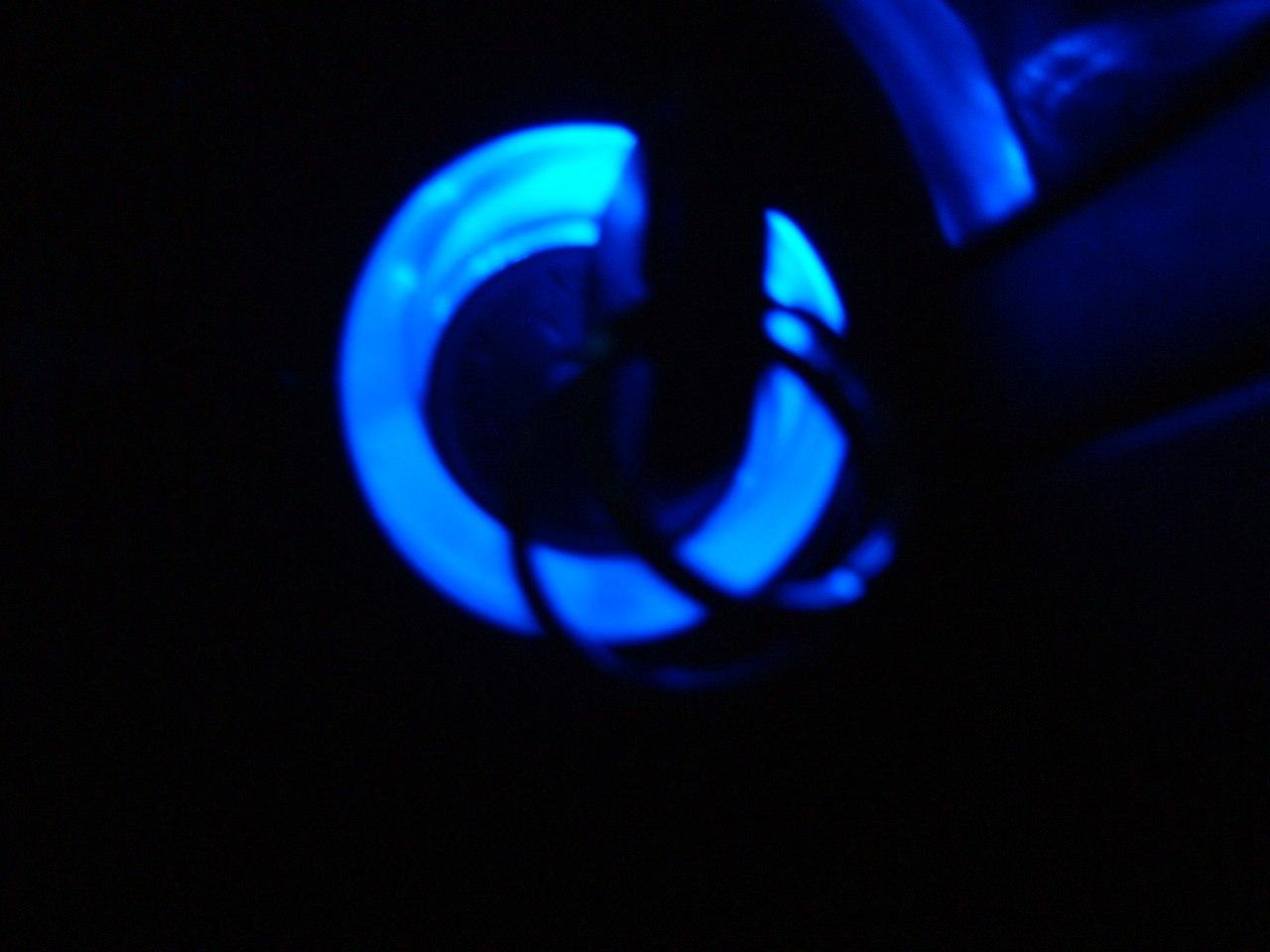 キーシリンダ  イルミ  青LED化