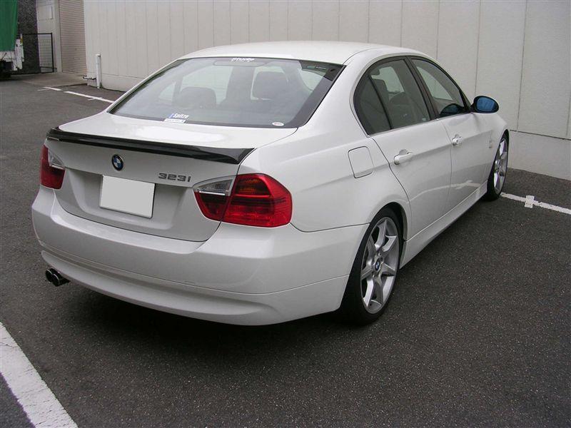 BMW カーボン・リア・トランクスポイラー・キット