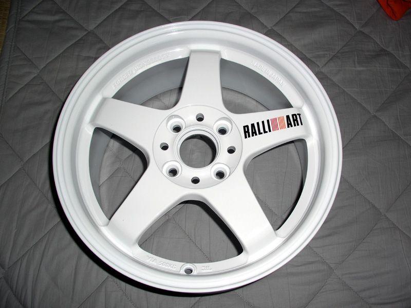 ミラージュVOLK RACING RAYS RALLIART Evolution R-01の単体画像