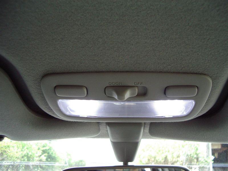 トヨタ スプリンターカリブ用スポットマップランプ