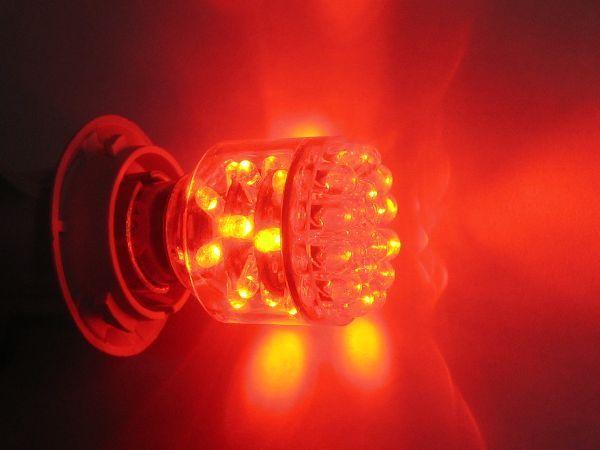 39LEDテールランプ 亀石屋 BAY15d-39LED 赤 ダブル