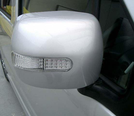 純正オプション ターンランプ付きドアミラーカバー