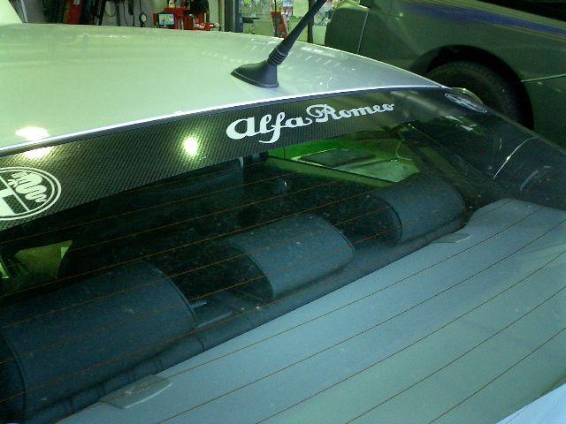 Alfa Romeo ステッカー