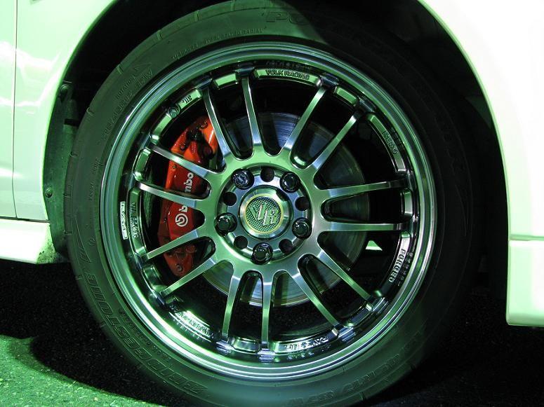 インテグラタイプRRAYZ VOLK RACING RE30  Formula Limited Editionの単体画像