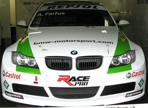 BMW Germanyの320siアウグスト・ファルファス号