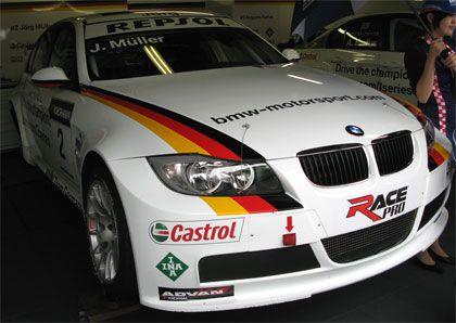 BMW Germanyの320siヨルグ・ミューラー号