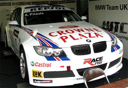 BMW UKの320siアンディ・プリオール号
