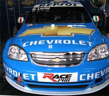 Chevrolet Lacetti ニコラ・ラリーニ号