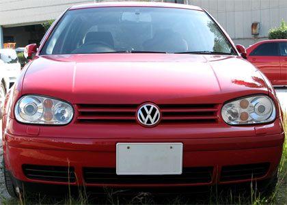 VW ゴルフIV Golf4 GLi フロントビュー