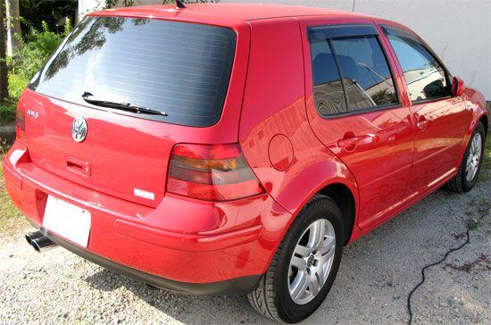 VW ゴルフIV Golf4 GLi リアビュー