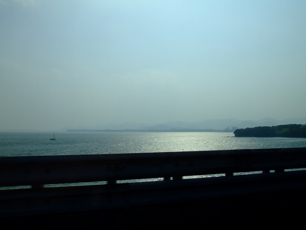 帰りの浜名湖