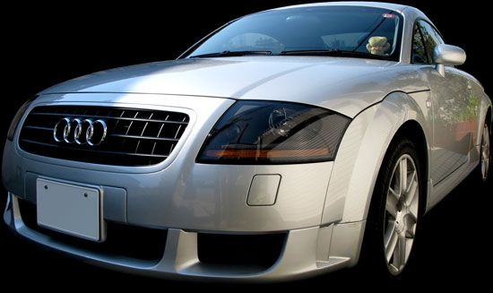 Audi TT Coupe S-line Limited (GH-8NBVR)全体像